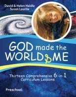 God Made the World & Me - Biblical Beginnings for Preschoolers