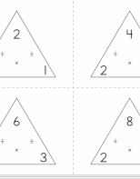 Flash Cards - Multiplication & Division